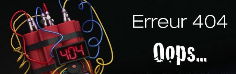 WordPress et le danger des pages d'erreur 404